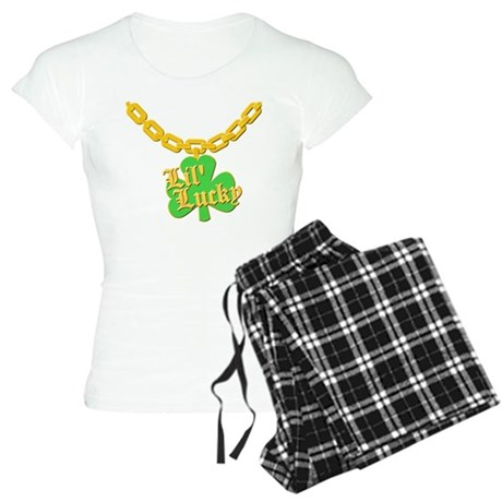 Lil' Lucky Womens Light Pajamas