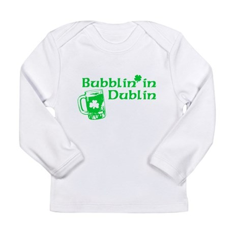 Bubblin' in Dublin Long Sleeve Infant T-Shirt