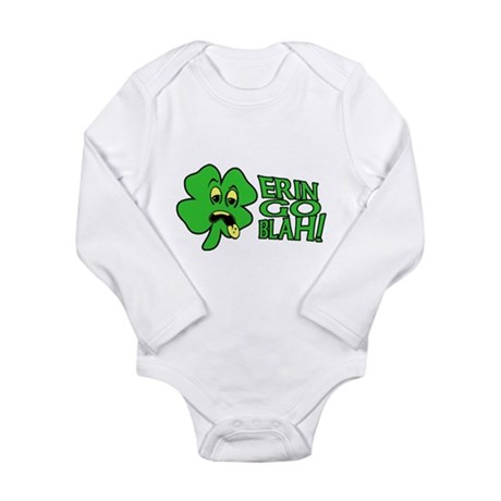 Erin Go Blah! Long Sleeve Infant Bodysuit