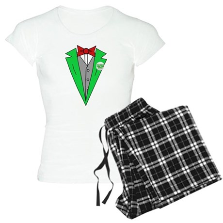 Irish Tuxedo T-Shirt Womens Light Pajamas