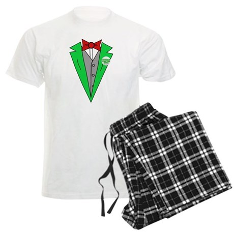 Irish Tuxedo T-Shirt Mens Light Pajamas