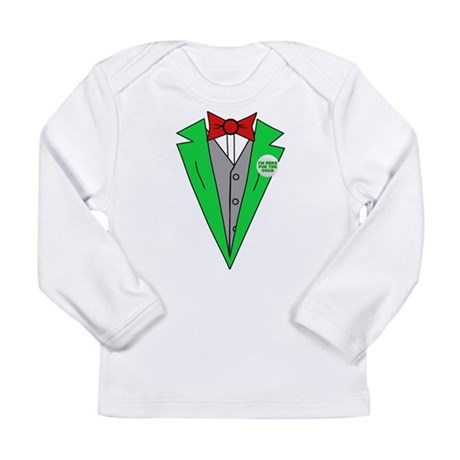 Irish Tuxedo T-Shirt Long Sleeve Infant T-Shirt