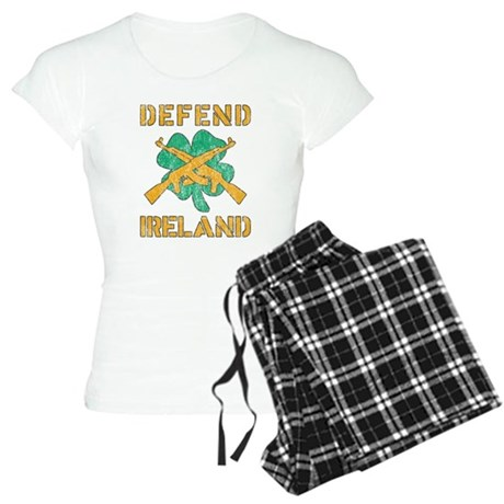Defend Ireland Womens Light Pajamas