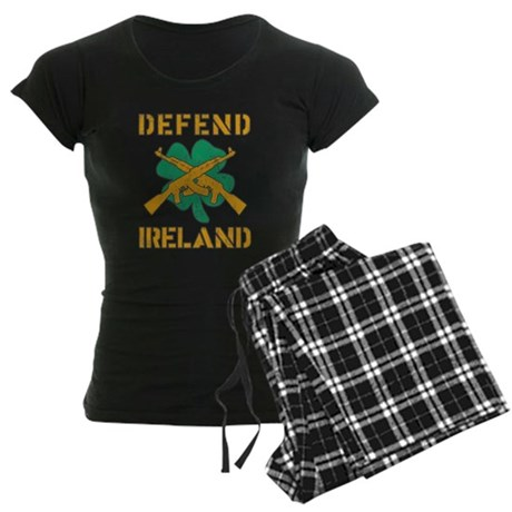Defend Ireland Womens Dark Pajamas