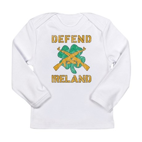 Defend Ireland Long Sleeve Infant T-Shirt