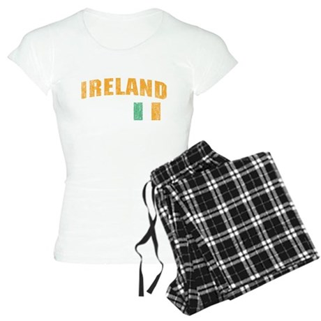 Vintage Ireland Soccer Womens Light Pajamas