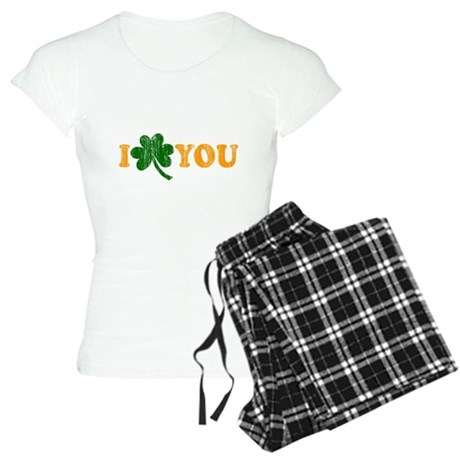I Shamrock You Womens Light Pajamas
