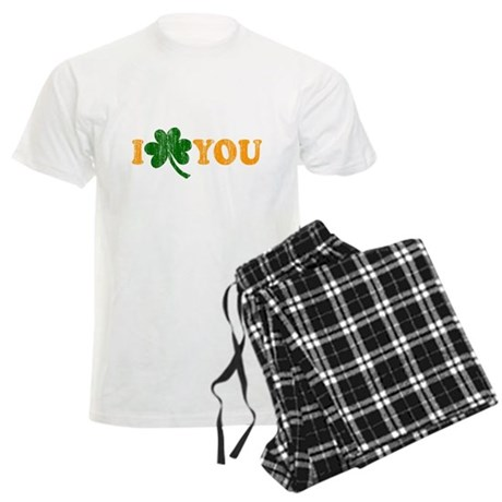 I Shamrock You Mens Light Pajamas