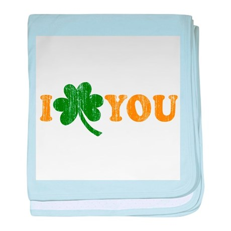 I Shamrock You baby blanket