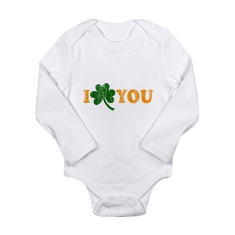 I Shamrock You Long Sleeve Infant Bodysuit