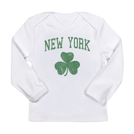 New York Irish Long Sleeve Infant T-Shirt