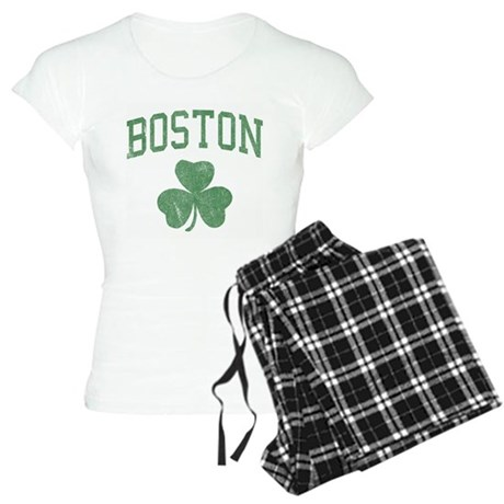 Boston Irish Womens Light Pajamas