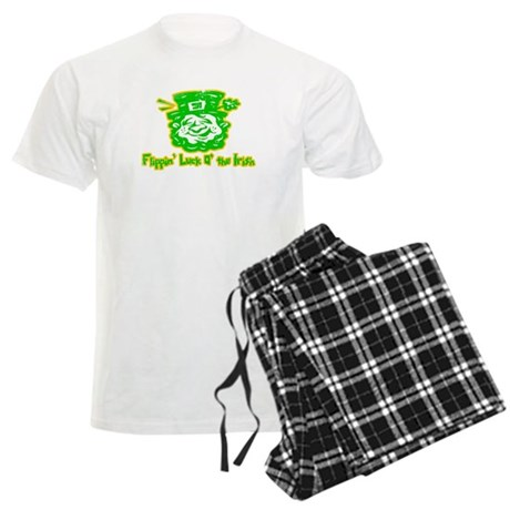 Flippin' Luck O' the Irish Mens Light Pajamas