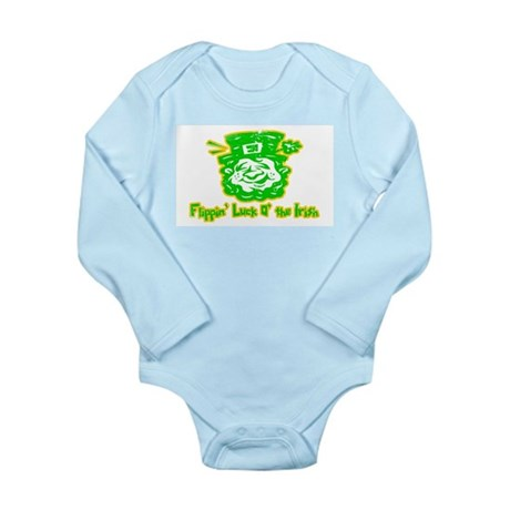 Flippin' Luck O' the Irish Long Sleeve Infant Body