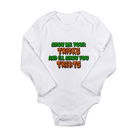 Show Me Your Tricks Long Sleeve Infant Bodysuit