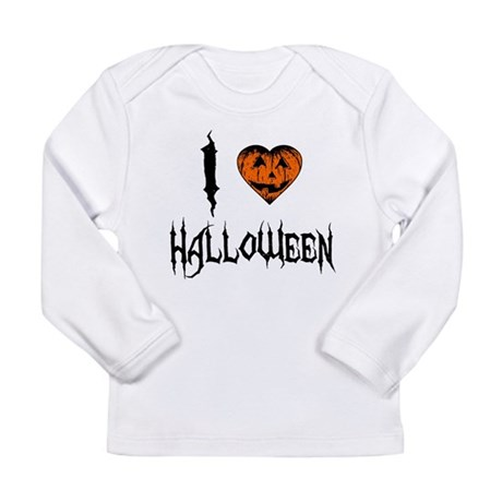 I Love Halloween Long Sleeve Infant T-Shirt