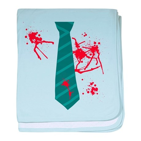 Zombie Hunter baby blanket