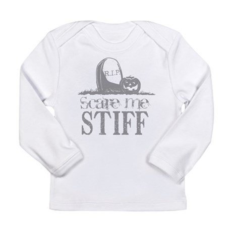 Scare Me Stiff Long Sleeve Infant T-Shirt