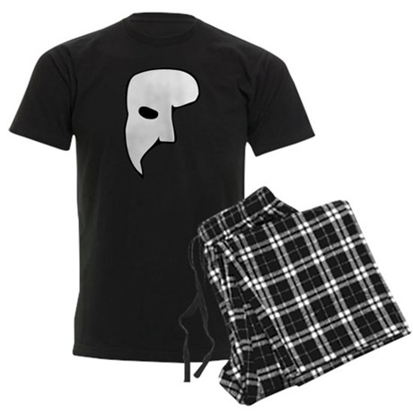 Phantom of the Opera Mens Dark Pajamas