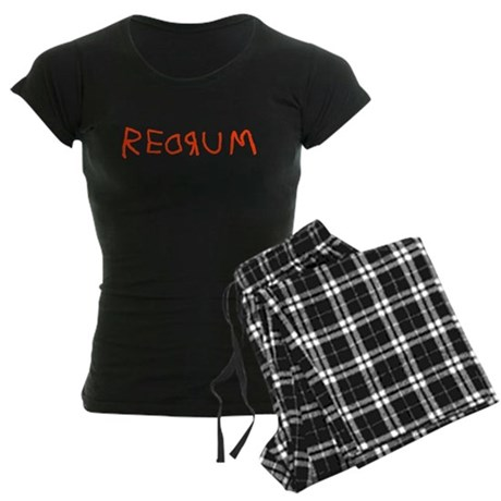 Redrum Womens Dark Pajamas