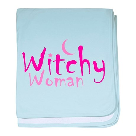 Witchy Woman baby blanket