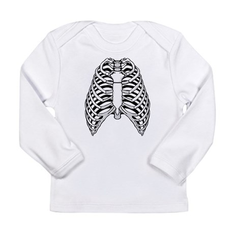 Ribs Long Sleeve Infant T-Shirt