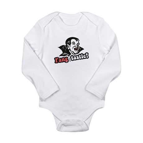 Fang-tastic! Long Sleeve Infant Bodysuit