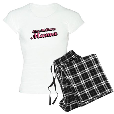 One Helluva Mama Womens Light Pajamas