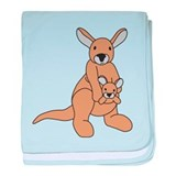 Cute Animals wildlife baby blanket