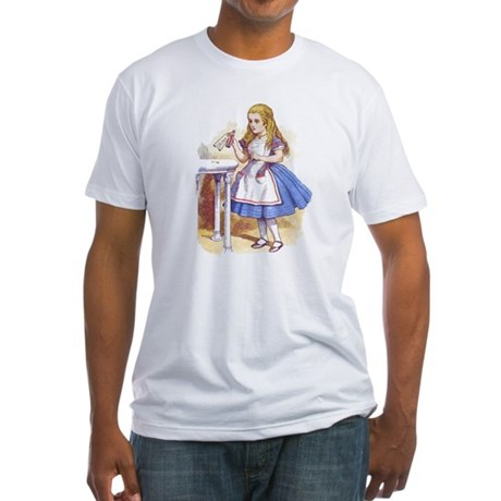 Alice in Wonderland Fitted T-Shirt