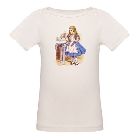 Alice in Wonderland Organic Baby T-Shirt