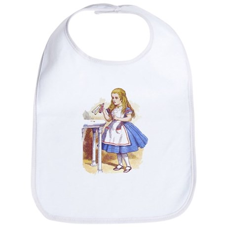 Alice in Wonderland Bib