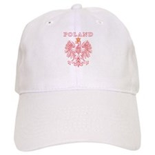 Poland Red Polish Eagle Baseball Cap
