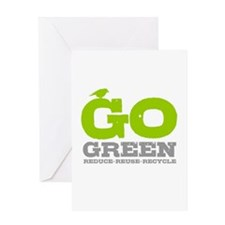 Go Green For Earth Day Greeting Card