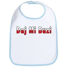 Daj Mi Buzi - Give me a Kiss Bib