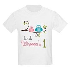 Custom Owl Birthday T-Shirt