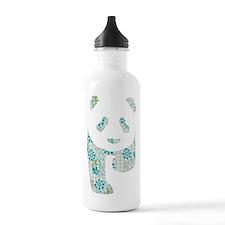 Floral Panda Water Bottle