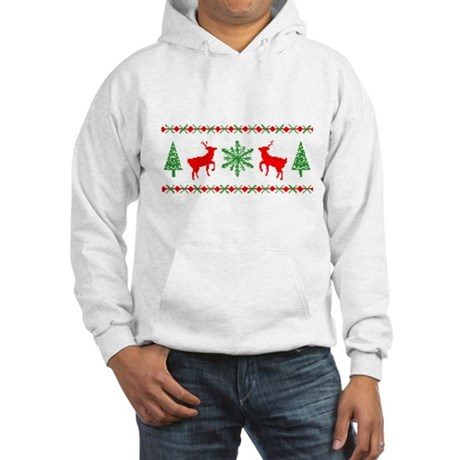 Ugly Christmas Sweater Hooded Sweatshirt