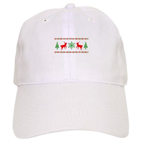 Ugly Christmas Sweater Cap