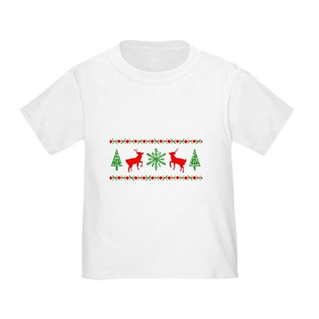 Ugly Christmas Sweater Toddler T-Shirt