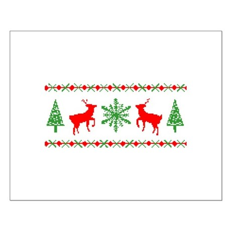 Ugly Christmas Sweater Small Poster
