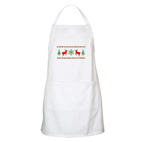 Ugly Christmas Sweater Apron