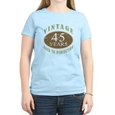 Vintage 45th Birthday T-Shirt