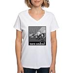 Turn Undead Women's V-Neck T-Shirt