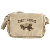 Vintage Honey Badger Messenger Bag