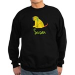 Susan Loves Puppies Sweatshirt (dark)