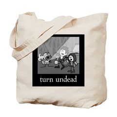 Turn Undead Tote Bag
