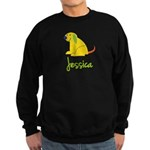 Jessica Loves Puppies Sweatshirt (dark)