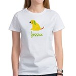 Jessica Loves Puppies Women's T-Shirt