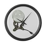 USB Crystal Ball Large Wall Clock